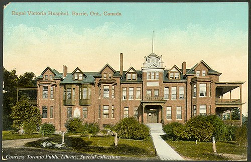 Royal Victoria Hospital, Barrie, Ontario, Canada (1910)